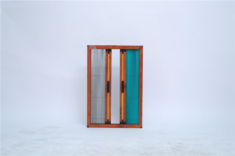 4双层折叠纱门