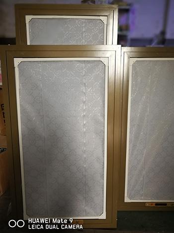 防霾双层纱窗
